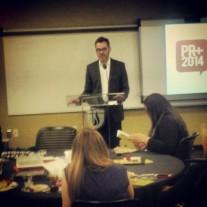 Keynote speaker Steve Buchanan, producer of TV show Nashville and CEO Opry Entertainment Group