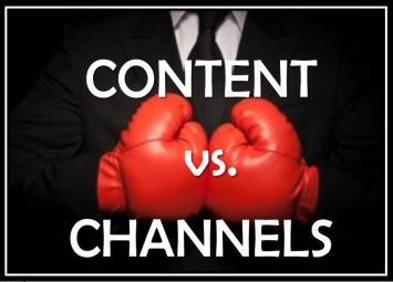 content vs channels