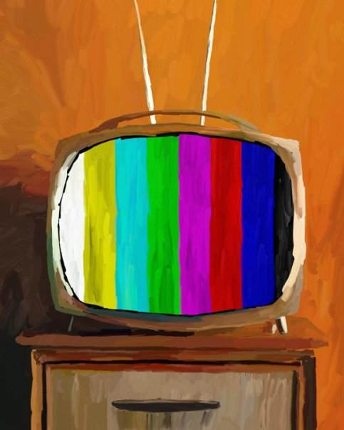 painted_old_tv