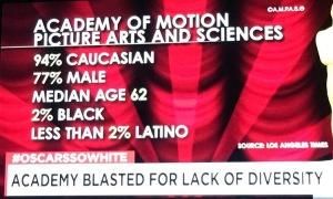 Oscars Diversity Aerial Ellis #oscarssowhite