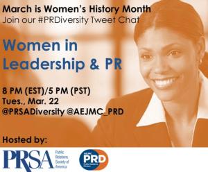 PRSA women leadership diversity Aerial Ellis