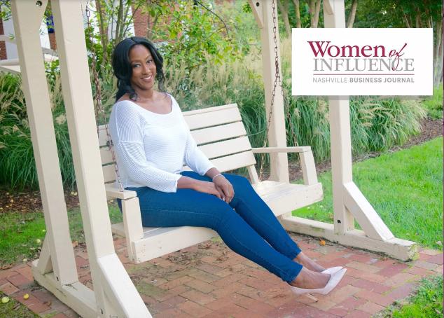 Aerial Ellis Woman of Inclusion Nashville Business Journal Trailblazer 2017